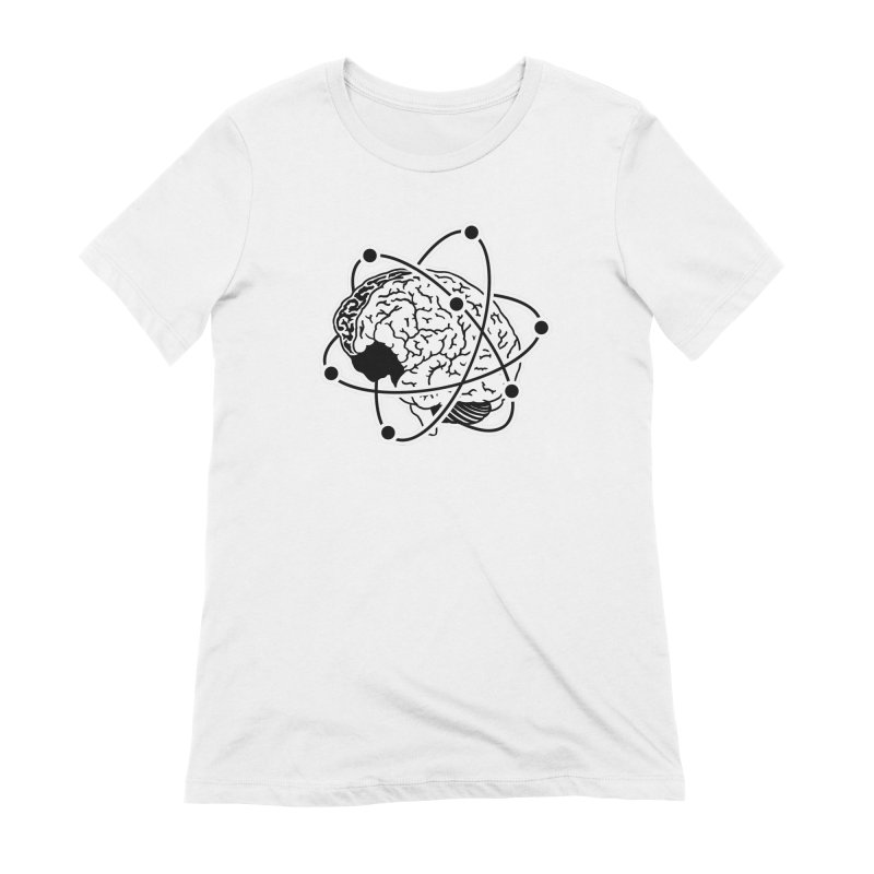 Brain Women's Extra Soft T-Shirt by Wunderland Tattoo