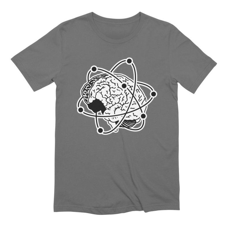 Brain Men's Extra Soft T-Shirt by Wunderland Tattoo