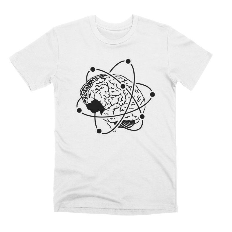 Brain Men's Premium T-Shirt by Wunderland Tattoo