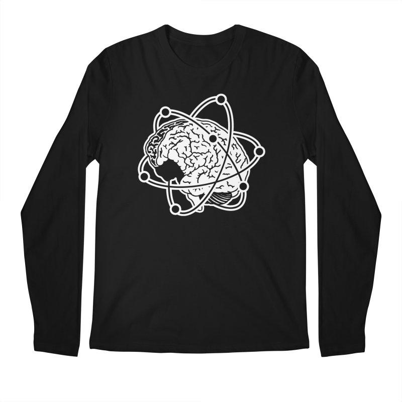 Brain Men's Regular Longsleeve T-Shirt by Wunderland Tattoo