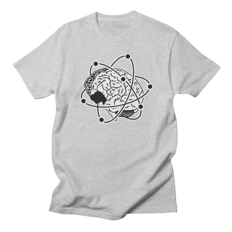 Brain Men's Regular T-Shirt by Wunderland Tattoo
