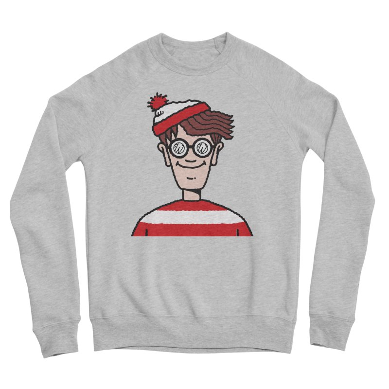 Wus Waldo Men's Sponge Fleece Sweatshirt by Wunderland Tattoo
