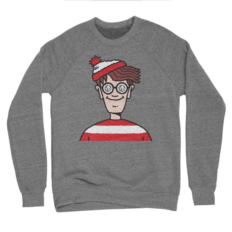 Wus Waldo Men's Sponge Fleece Sweatshirt by Wunderland Tattoo
