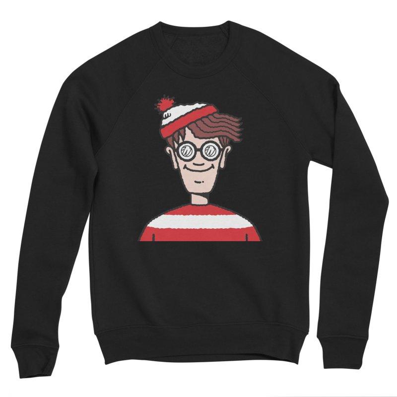 Wus Waldo Women's Sponge Fleece Sweatshirt by Wunderland Tattoo