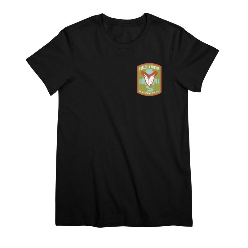Loblolly Woods Women's Premium T-Shirt by Wunderland Tattoo