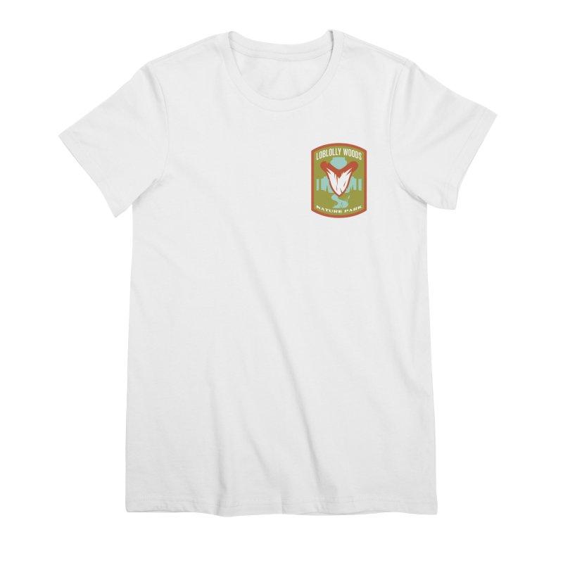 Loblolly Woods Women's Premium T-Shirt by Wunderland Tattoo