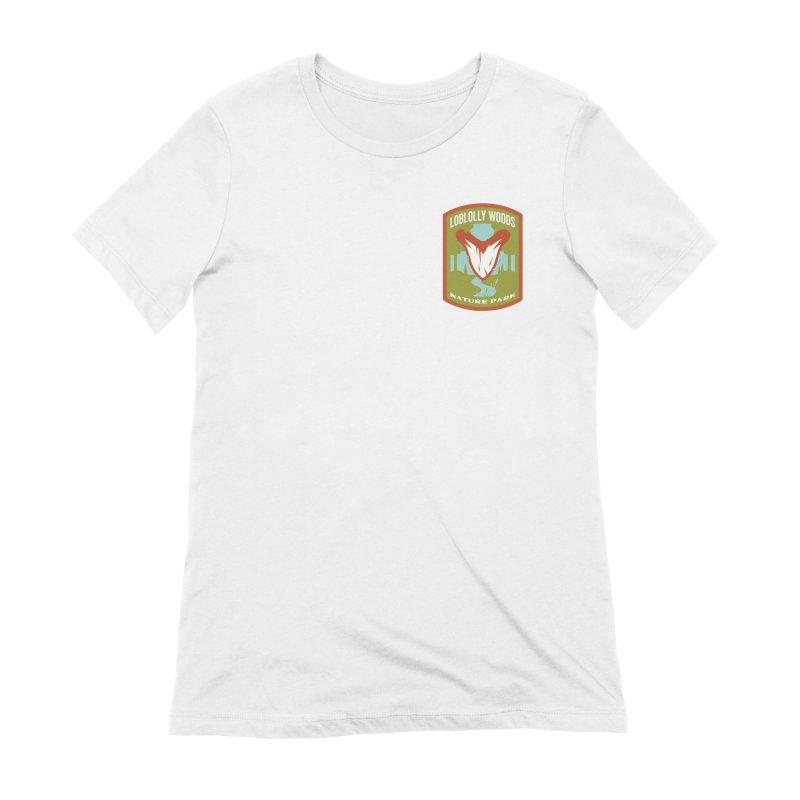 Loblolly Woods Women's Extra Soft T-Shirt by Wunderland Tattoo
