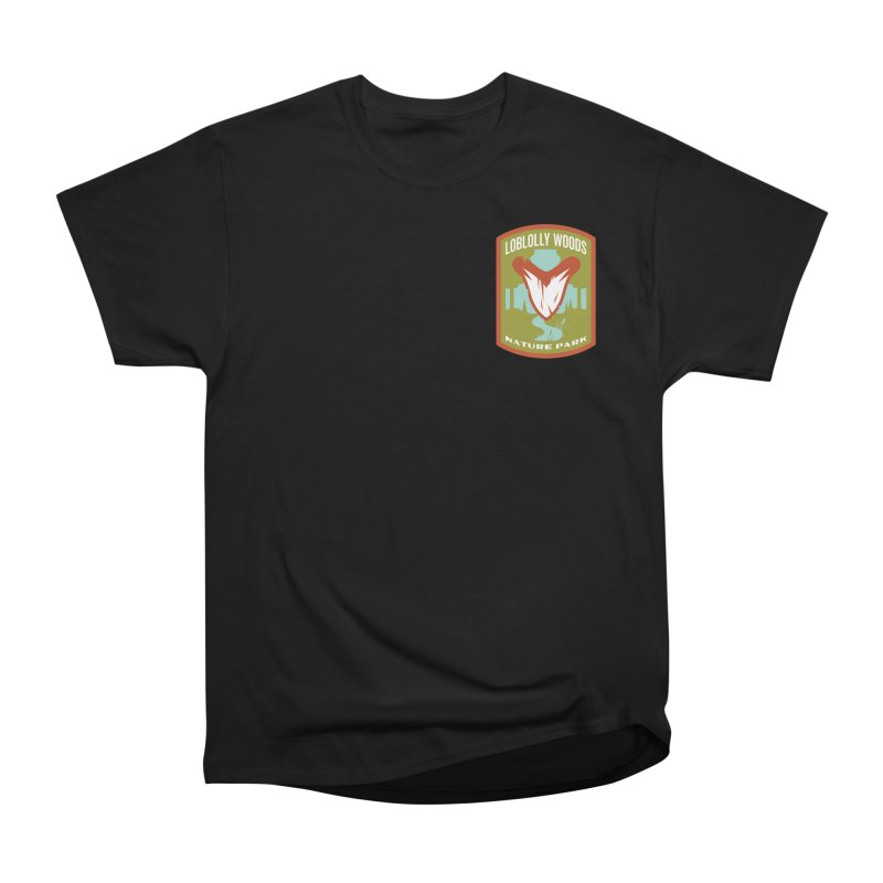 Loblolly Woods Men's Heavyweight T-Shirt by Wunderland Tattoo