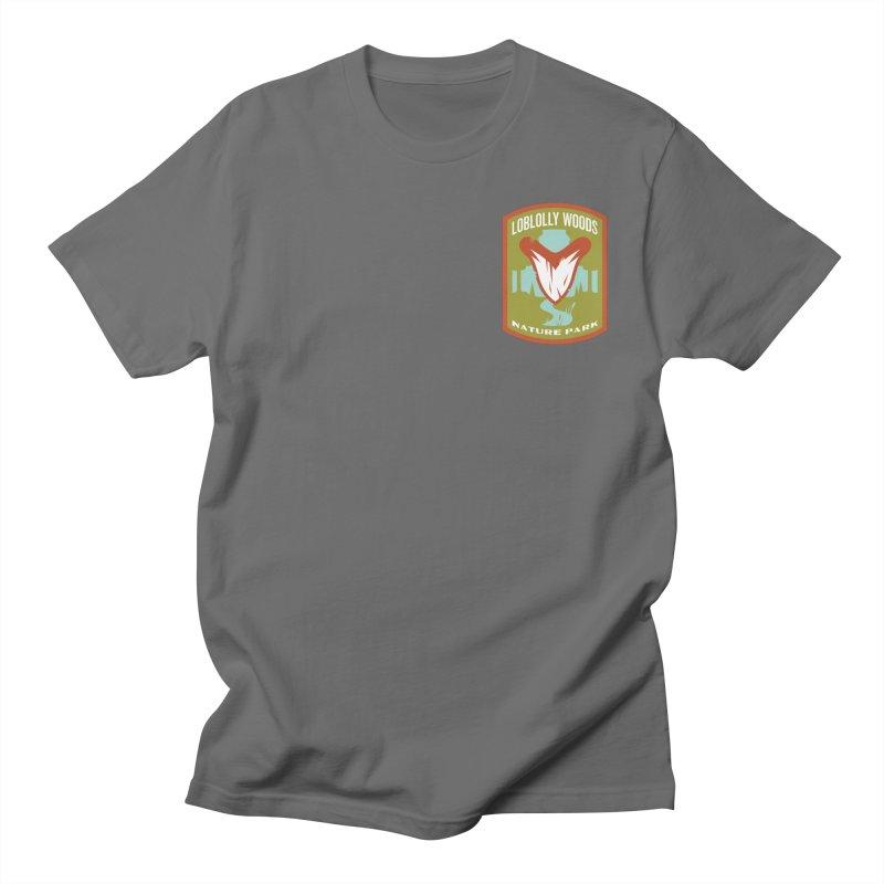 Loblolly Woods Men's Regular T-Shirt by Wunderland Tattoo