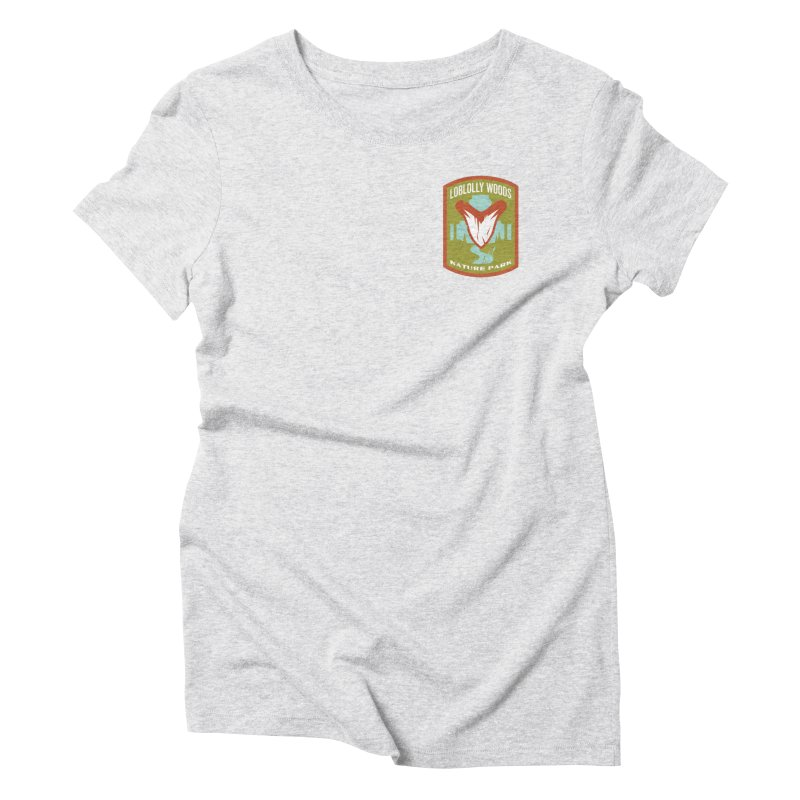Loblolly Woods Women's Triblend T-Shirt by Wunderland Tattoo
