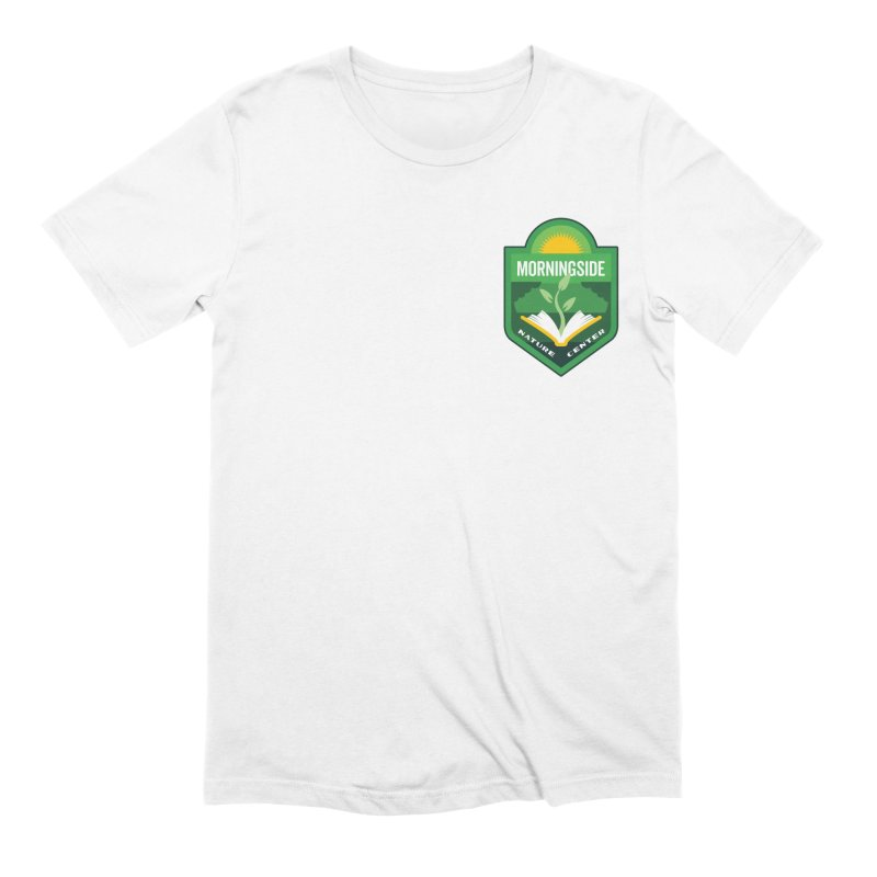 Morningside Nature Center Men's Extra Soft T-Shirt by Wunderland Tattoo