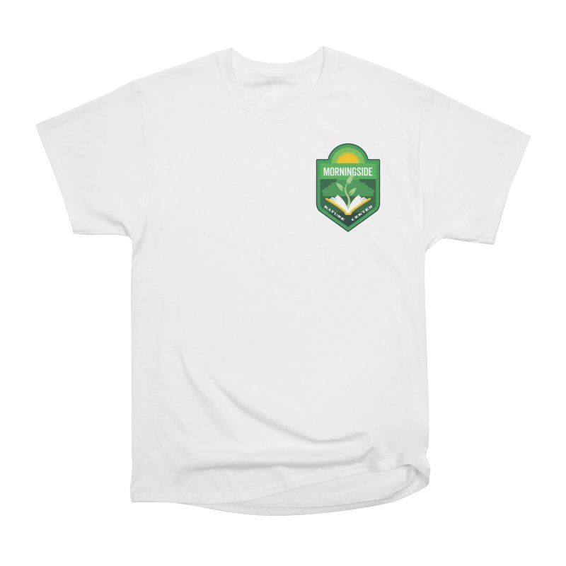 Morningside Nature Center Men's Heavyweight T-Shirt by Wunderland Tattoo