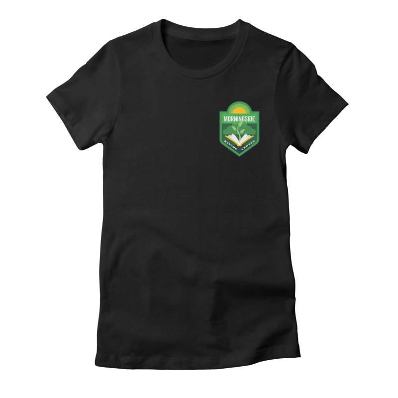 Morningside Nature Center Women's Fitted T-Shirt by Wunderland Tattoo