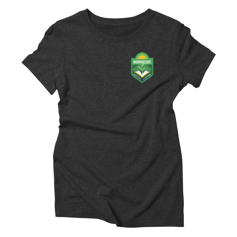Morningside Nature Center Women's Triblend T-Shirt by Wunderland Tattoo