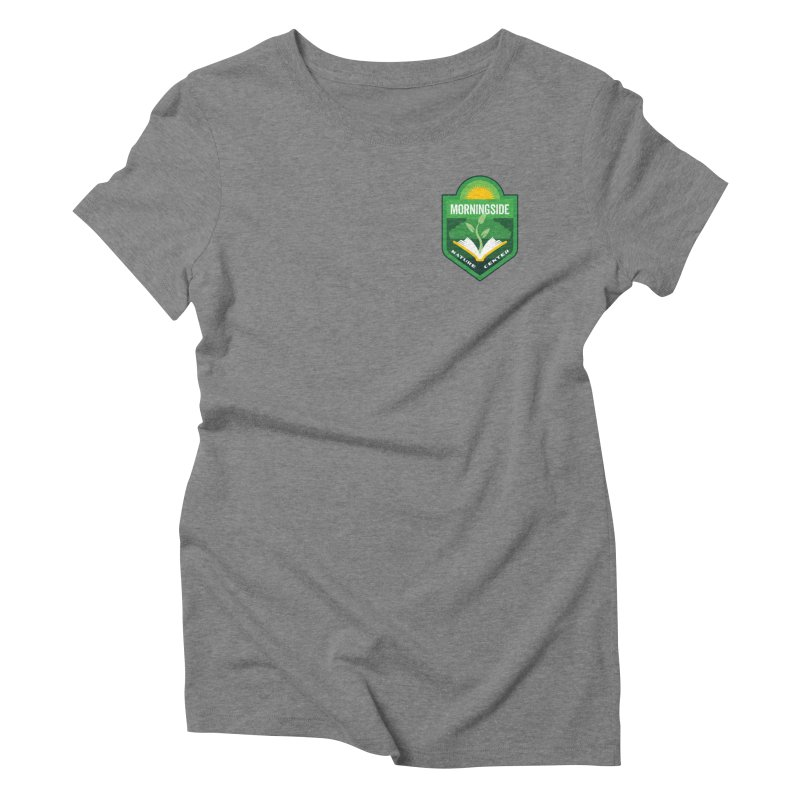 Morningside Nature Center Women's Triblend T-Shirt by Wunderland Tattoo