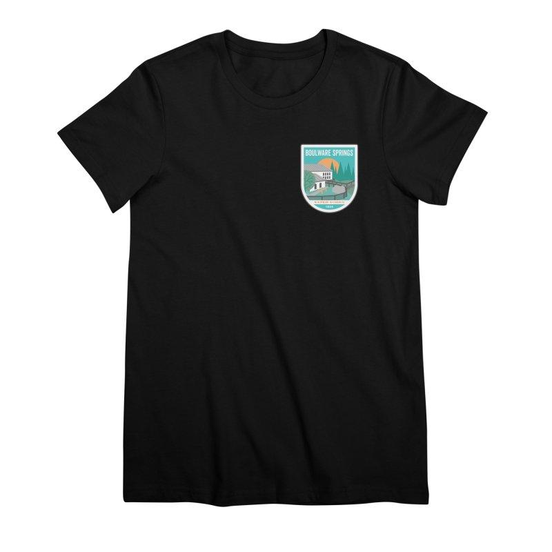 Boulware Springs Women's Premium T-Shirt by Wunderland Tattoo