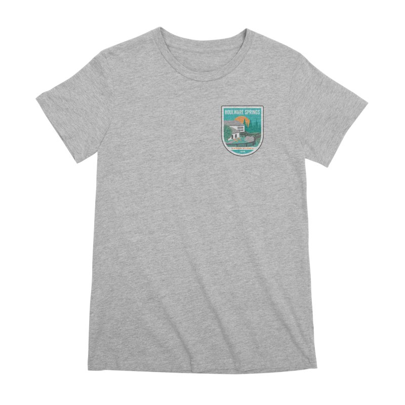 Boulware Springs Women's Premium T-Shirt by Wunderland Tattoo