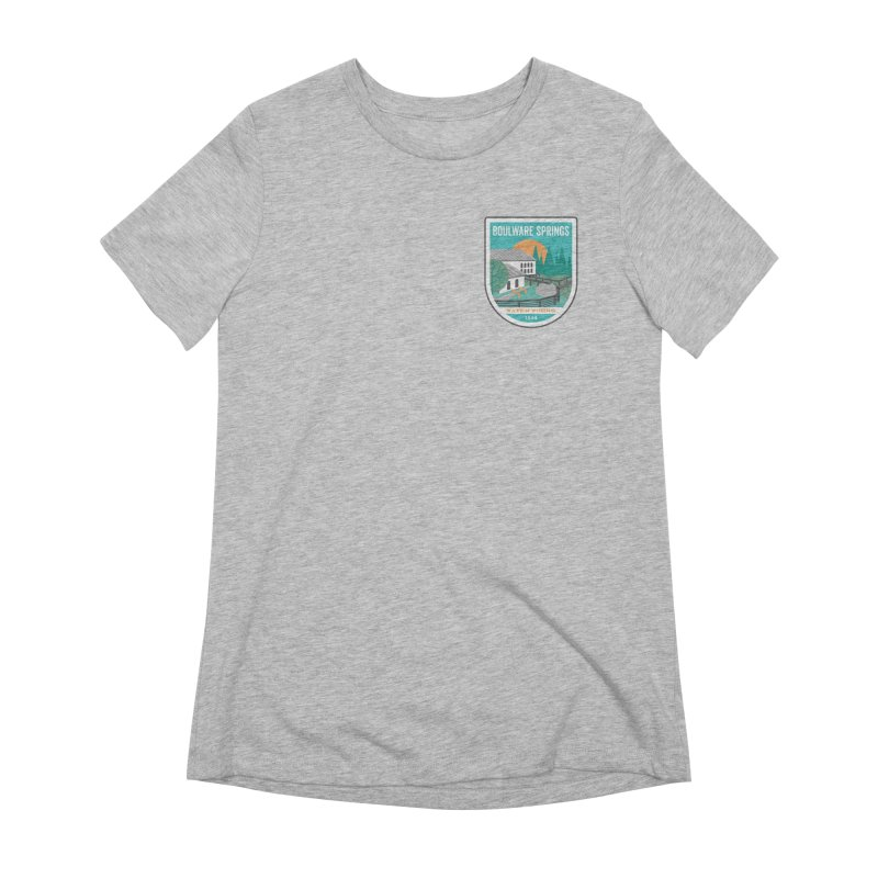Boulware Springs Women's Extra Soft T-Shirt by Wunderland Tattoo