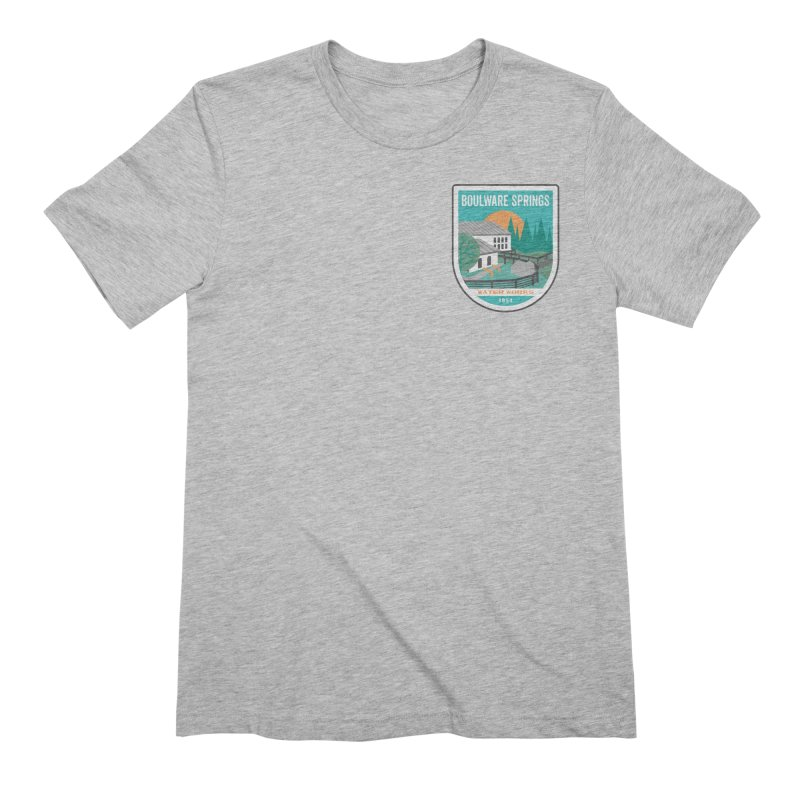 Boulware Springs Men's Extra Soft T-Shirt by Wunderland Tattoo