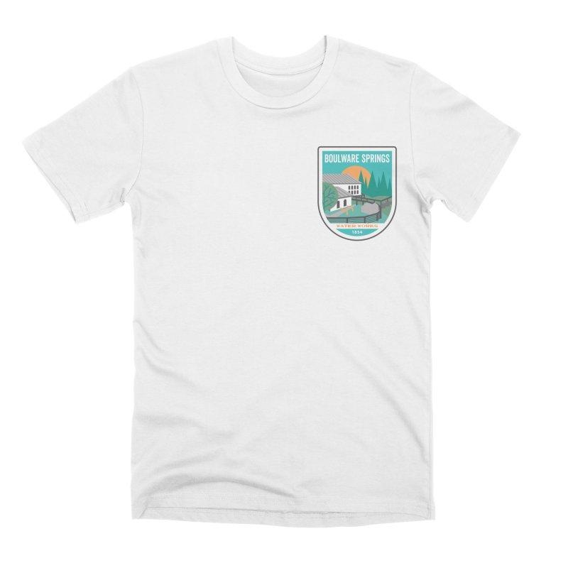 Boulware Springs Men's Premium T-Shirt by Wunderland Tattoo