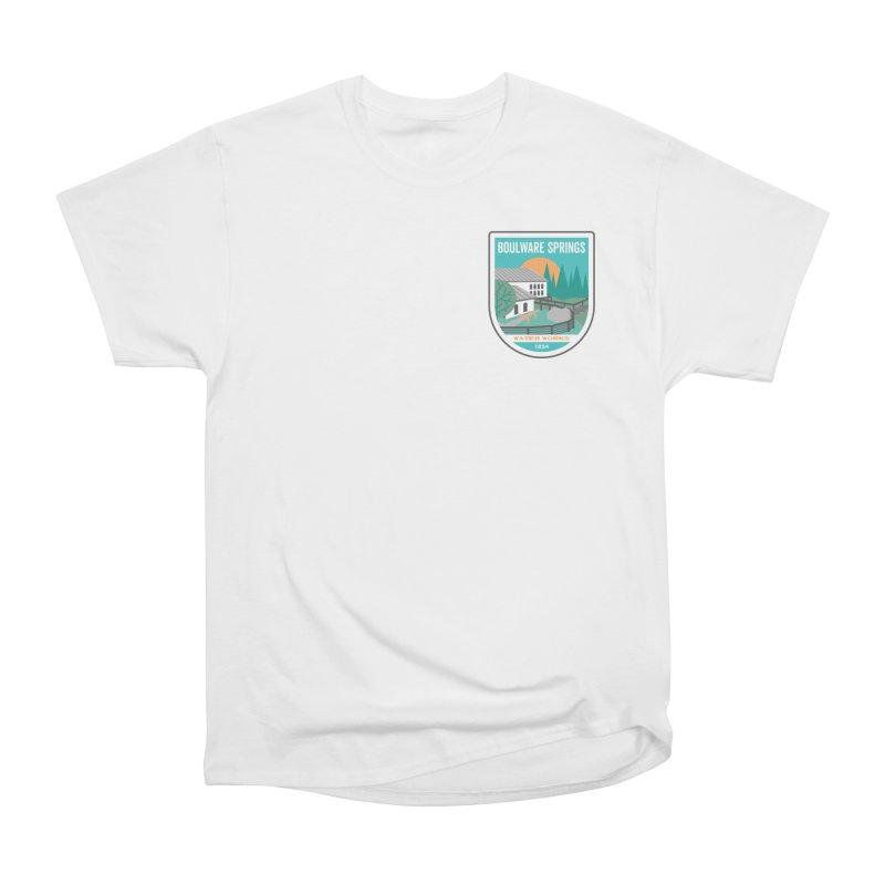 Boulware Springs Men's Heavyweight T-Shirt by Wunderland Tattoo