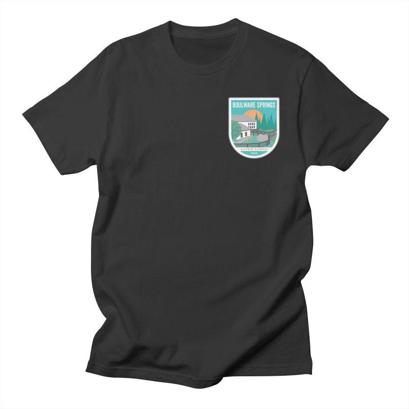 Boulware Springs Men's Regular T-Shirt by Wunderland Tattoo