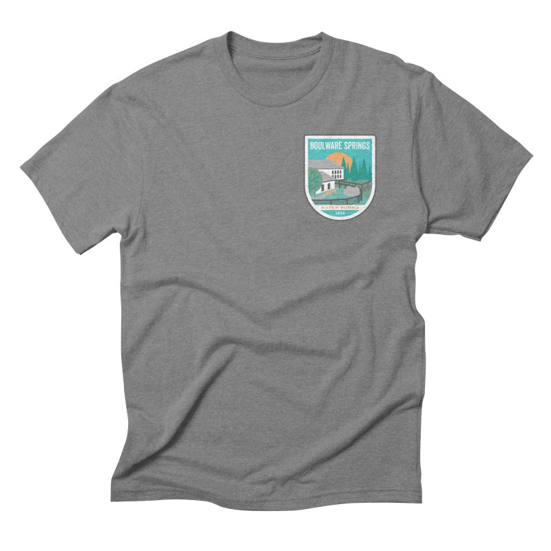 Boulware Springs Men's Triblend T-Shirt by Wunderland Tattoo