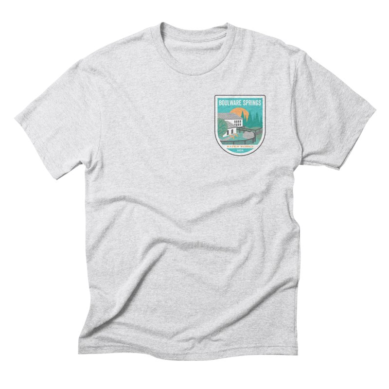 Boulware Springs Men's Triblend T-Shirt by Wunderland Tattoo