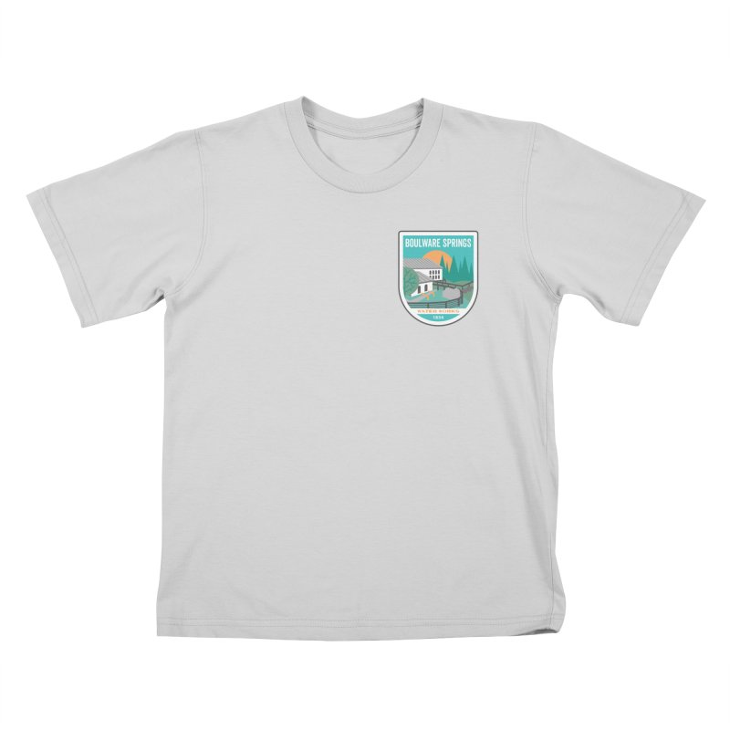 Boulware Springs Kids T-Shirt by Wunderland Tattoo