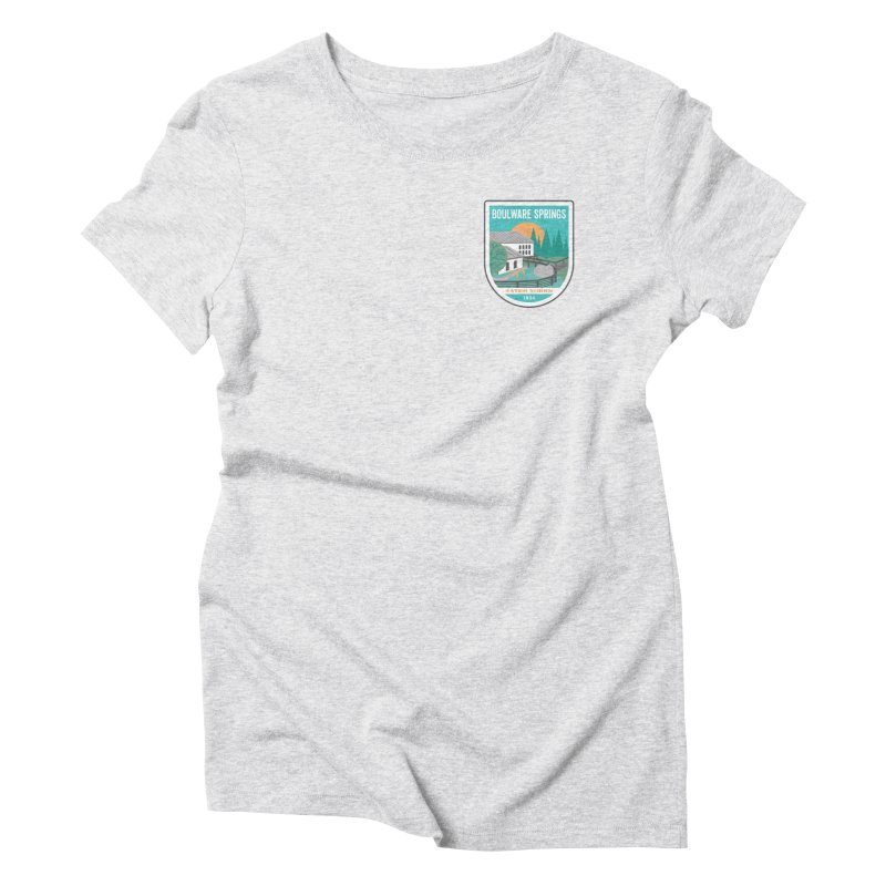 Boulware Springs Women's Triblend T-Shirt by Wunderland Tattoo