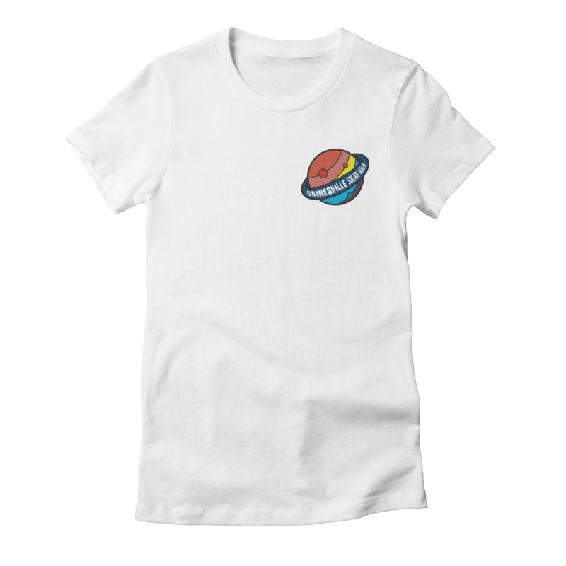 Gainesville Solar Walk Women's Fitted T-Shirt by Wunderland Tattoo