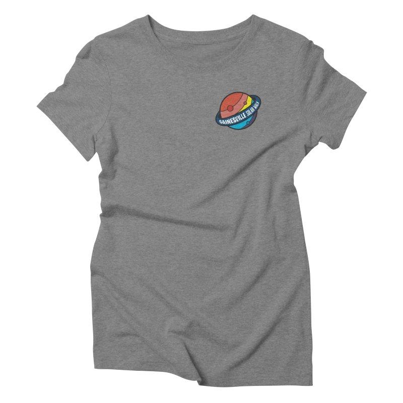 Gainesville Solar Walk Women's Triblend T-Shirt by Wunderland Tattoo