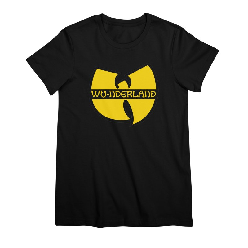 Wu-nderland Women's Premium T-Shirt by Wunderland Tattoo