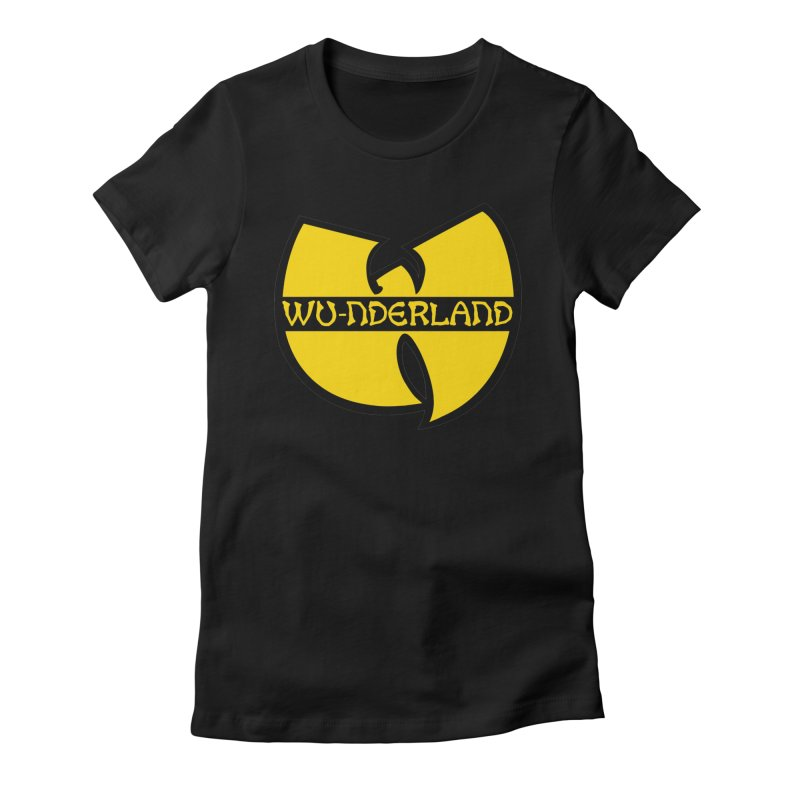 Wu-nderland Women's Fitted T-Shirt by Wunderland Tattoo