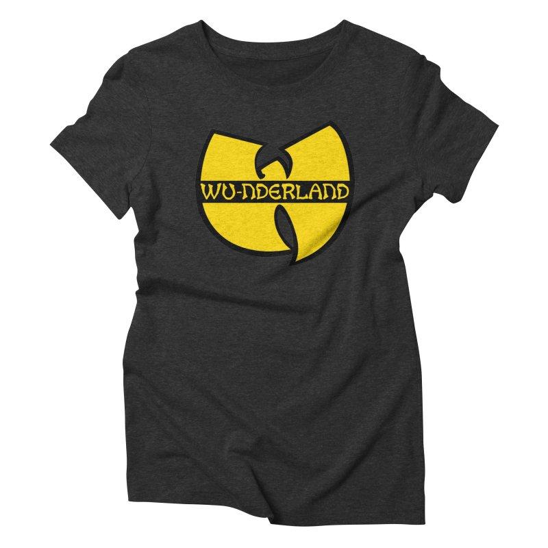 Wu-nderland Women's Triblend T-Shirt by Wunderland Tattoo