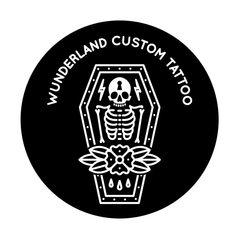 Coffin Women's T-Shirt by Wunderland Tattoo