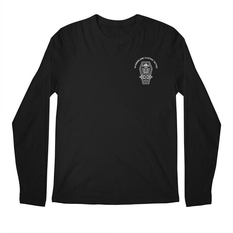 Coffin Men's Regular Longsleeve T-Shirt by Wunderland Tattoo