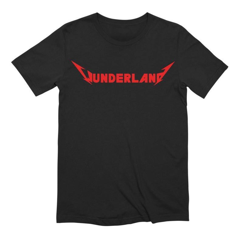 Metal Up Your Ass Men's Extra Soft T-Shirt by Wunderland Tattoo