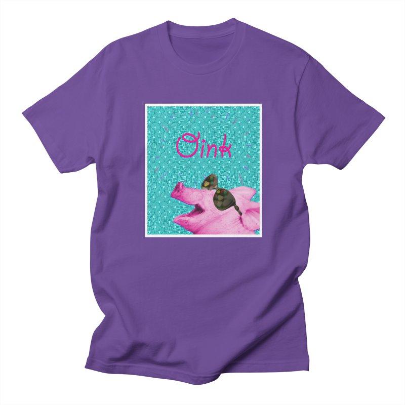 Excitement in Men's Regular T-Shirt Purple by wutwedoo tees