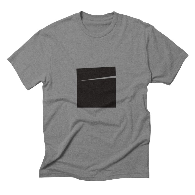 SQ #144 in Men's Triblend T-shirt Grey Triblend by WhileYouWereAway