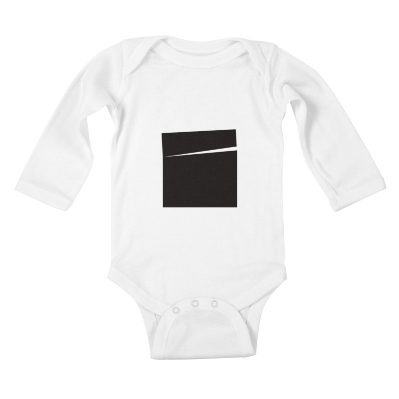 SQ #144 Kids Baby Longsleeve Bodysuit by WhileYouWereAway