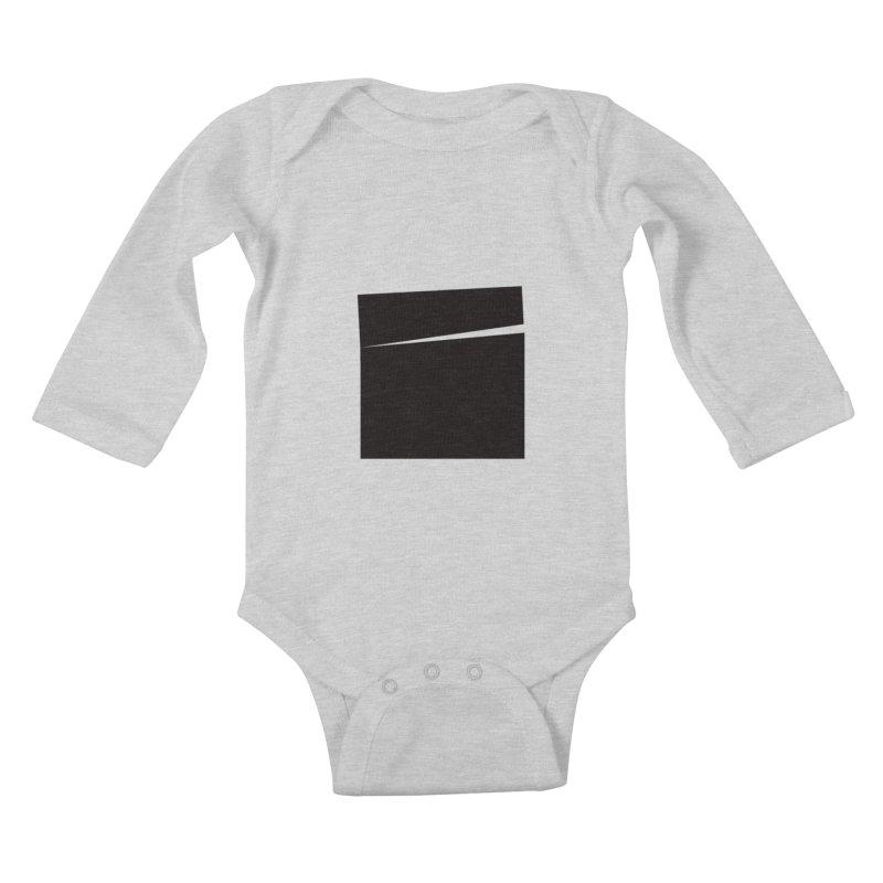 SQ #144 Kids Baby Longsleeve Bodysuit by WhileYouWereAway