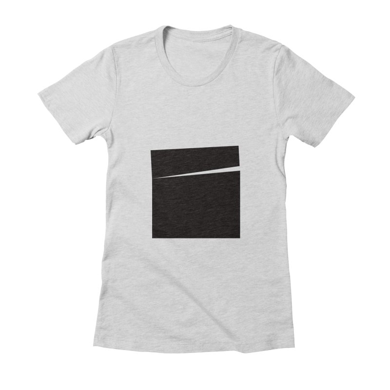 SQ #144 Women's Fitted T-Shirt by WhileYouWereAway