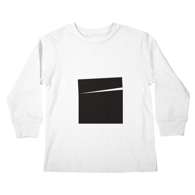 SQ #144 Kids Longsleeve T-Shirt by WhileYouWereAway