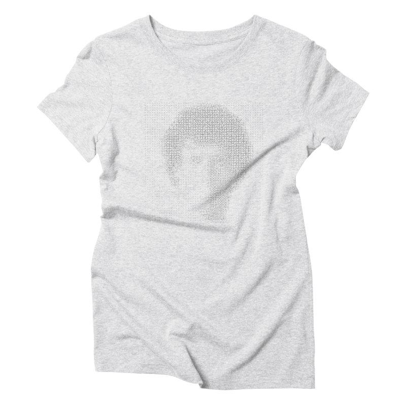 Rocko 2500 Women's Triblend T-Shirt by WhileYouWereAway