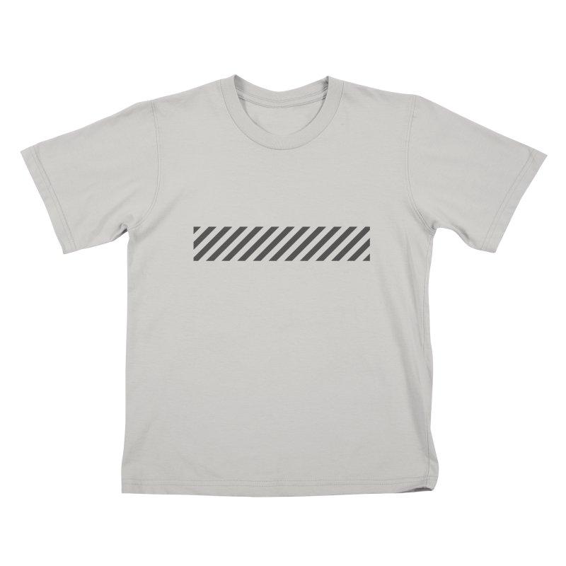 Warning! Kids T-Shirt by WhileYouWereAway