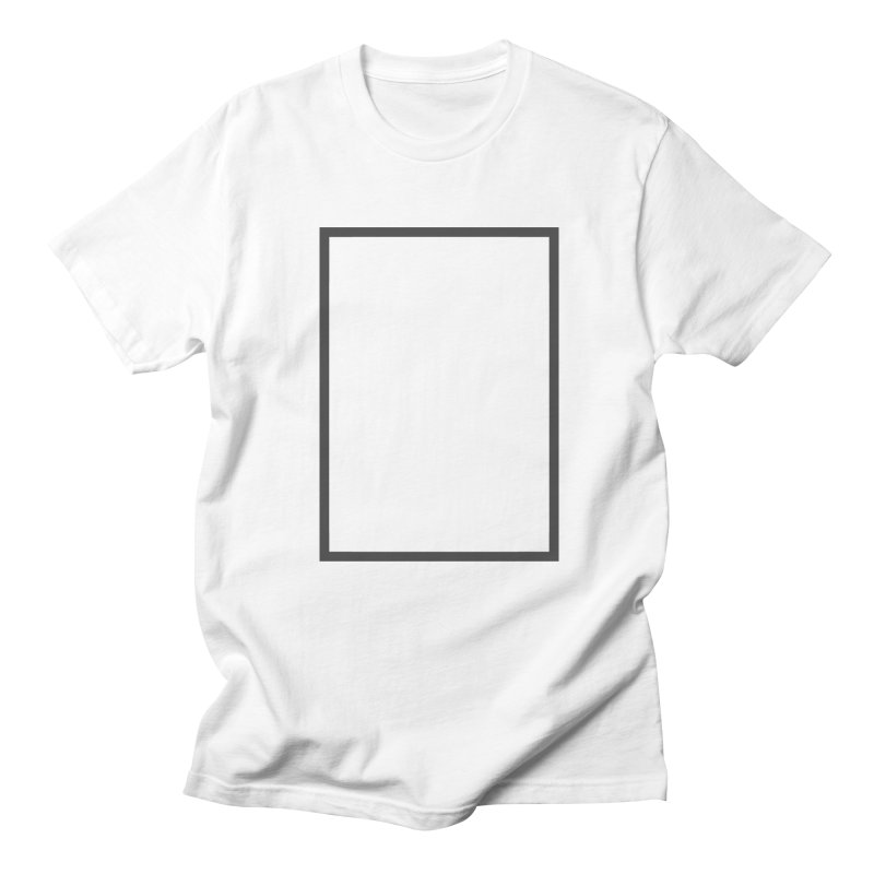 SQ #88 in Men's T-shirt White by WhileYouWereAway