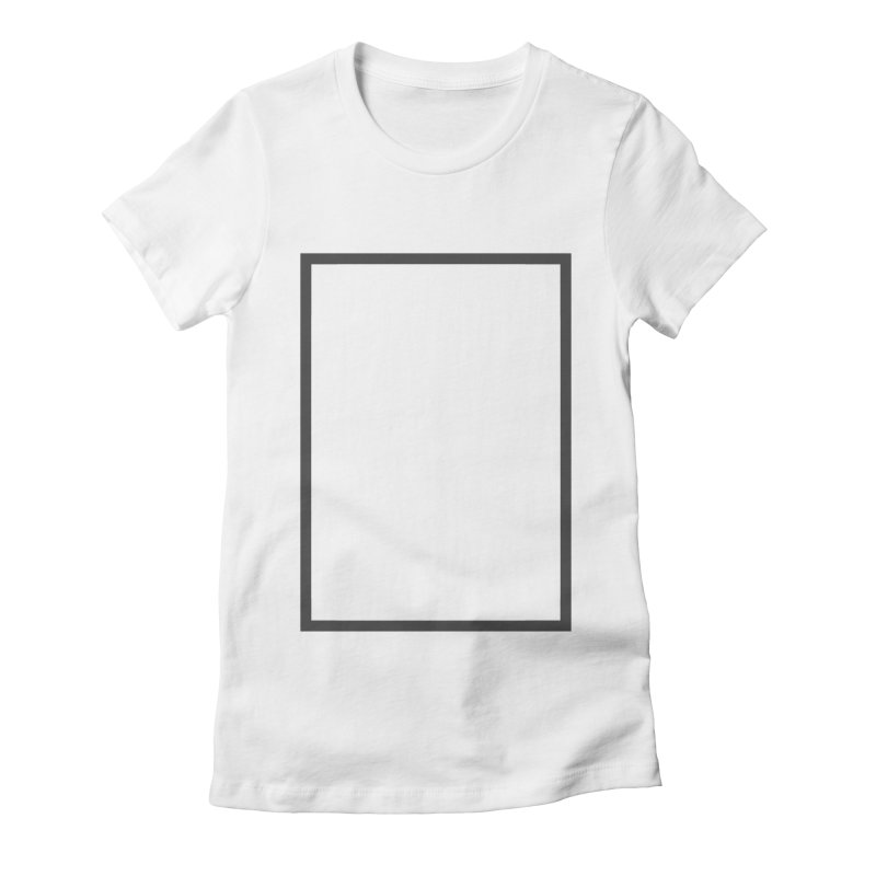 SQ #88 Women's Fitted T-Shirt by WhileYouWereAway