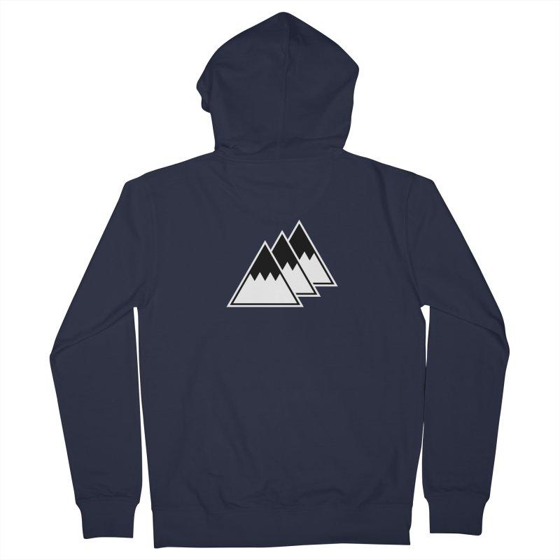 Alps Women's Zip-Up Hoody by WhileYouWereAway