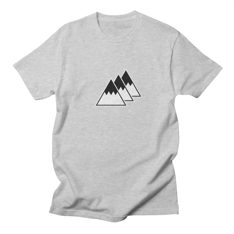Alps Men's T-Shirt by WhileYouWereAway